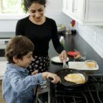 Cuisiner avec les enfants: comment préparer des quesadillas