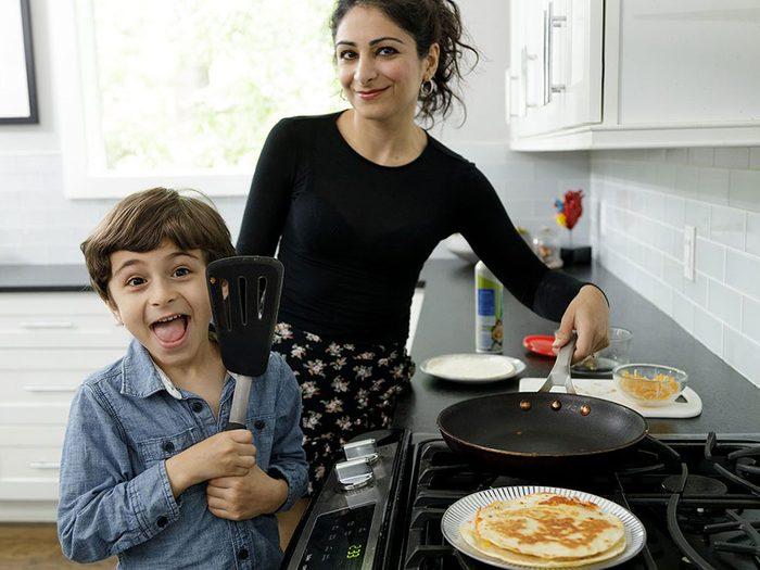Pourquoi est-ce important de faire la cuisine avec les enfants?