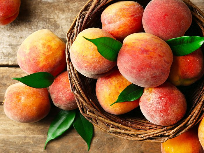 Duree De Conservation Des Aliments Perissables Fruit Peche