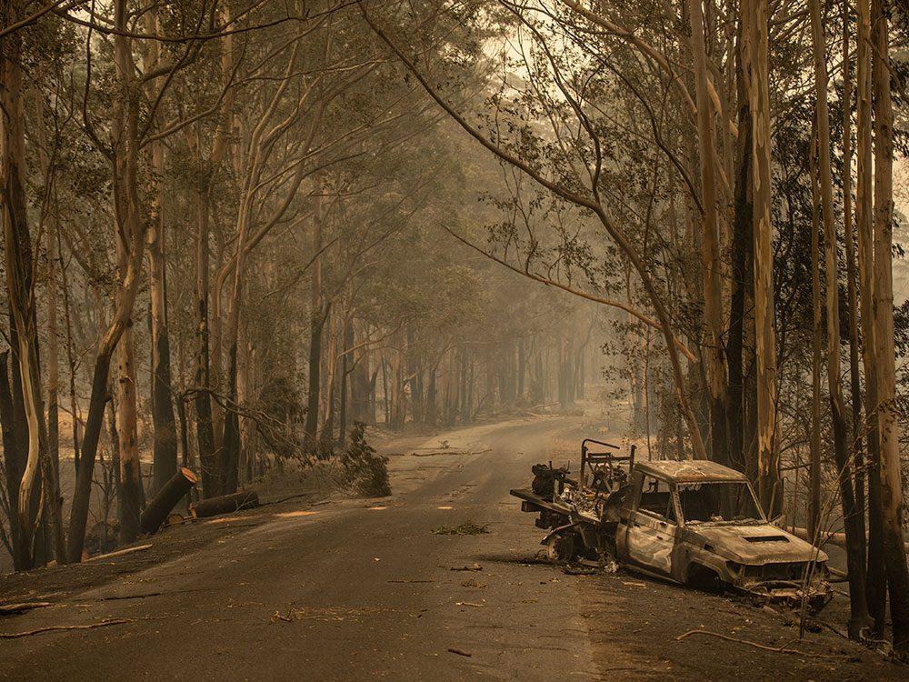Incendies en Australie: Kangaroo Valley a été dévastée.