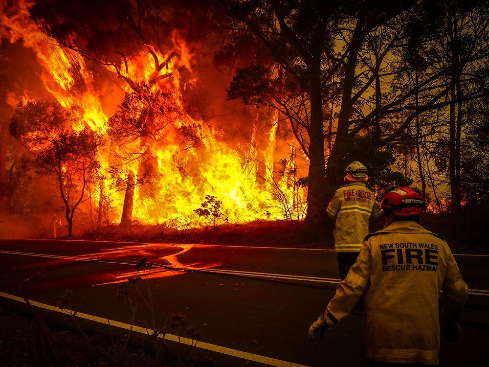 Incendies en Australie: l'enfer sur Terre.