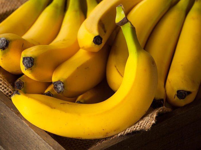 Les bananes font partie des superaliments à consommer pour lutter contre la dépression et l'anxiété.
