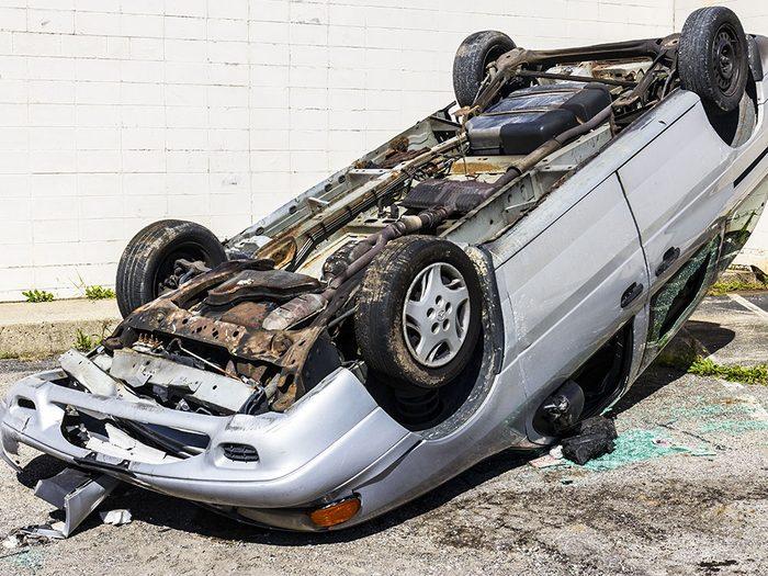 Témoignage: Corine était déterminée à sortir après l'accident de voiture.