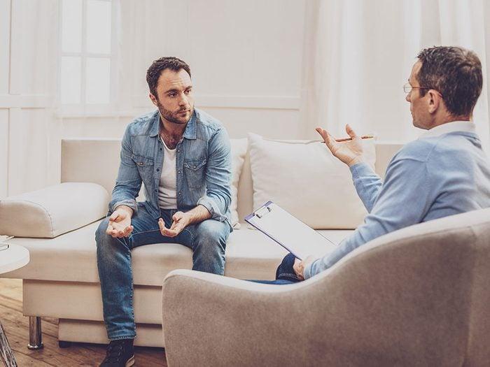 Essayez plusieurs thérapeutes pour réussir votre thérapie.
