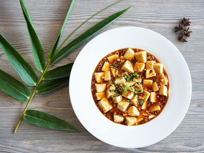 Bienfaits du tofu: le tofu est généralement sans danger.