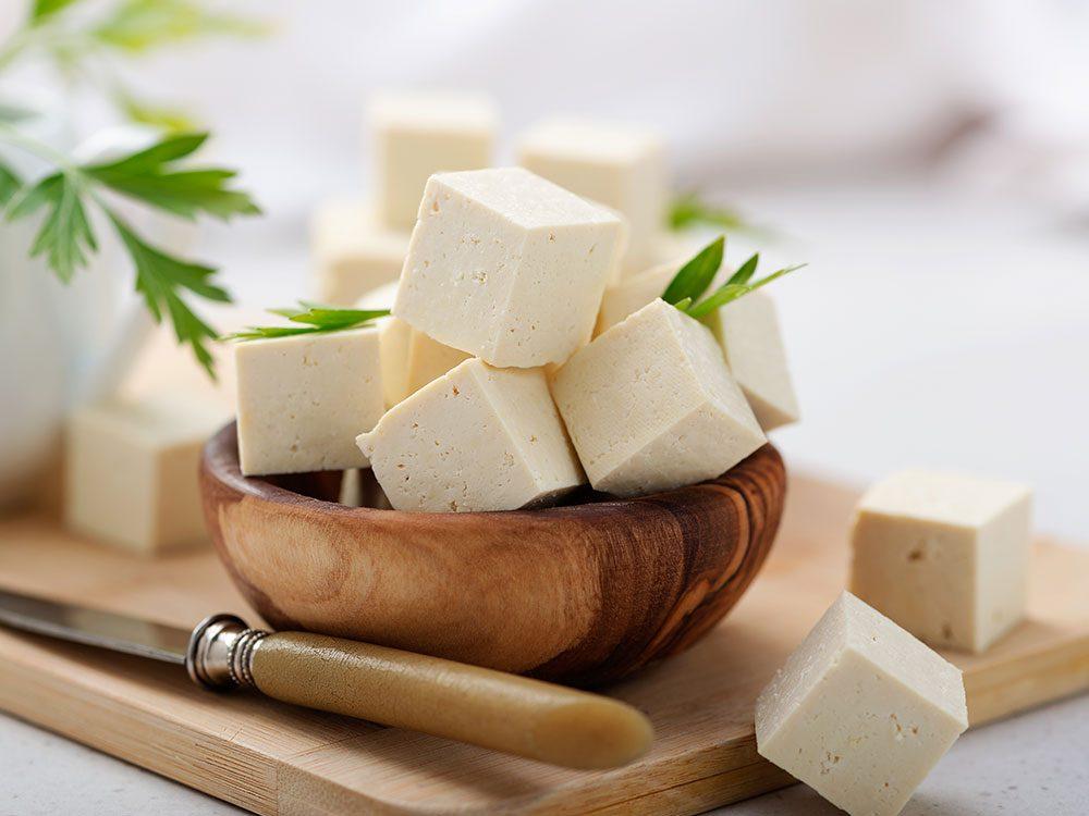 Les bienfaits du tofu que vous devez connaître.
