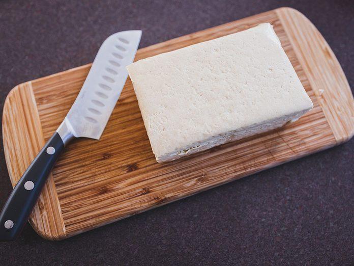 Les bienfaits du tofu extra-ferme.