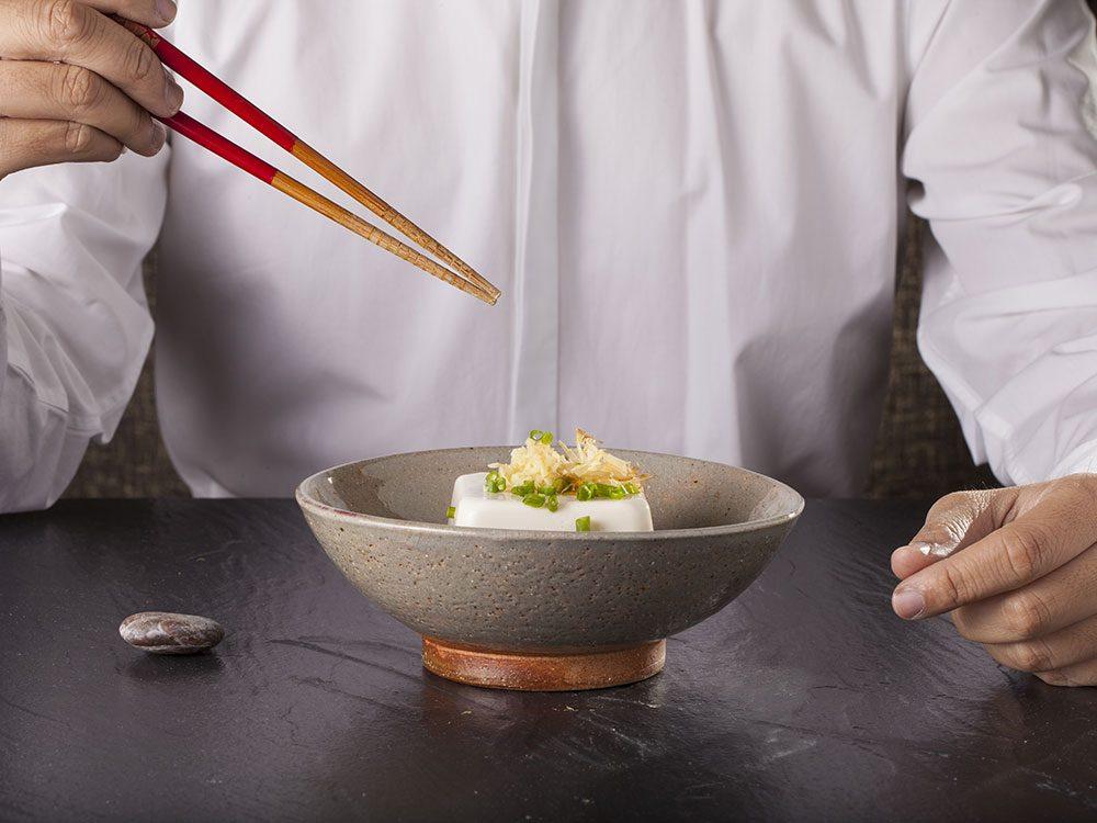 Bienfaits du tofu: le tofu pourrait vous faire vivre plus longtemps.