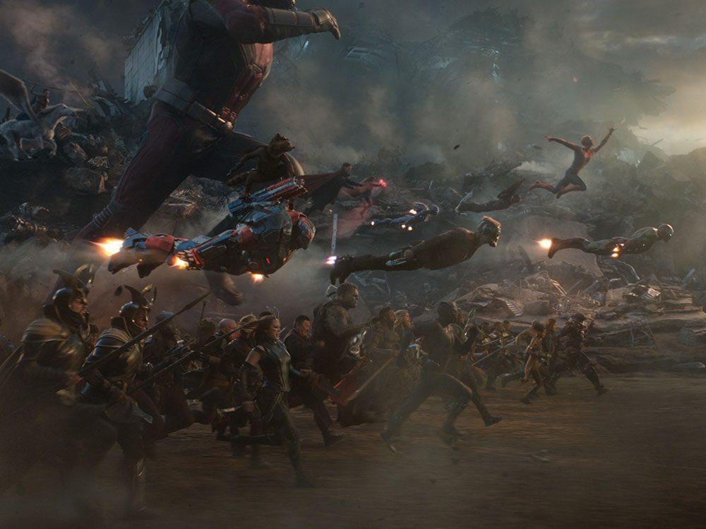 Regardez Avengers: Endgame en 22e pour respecter la chronologie de film Marvel.