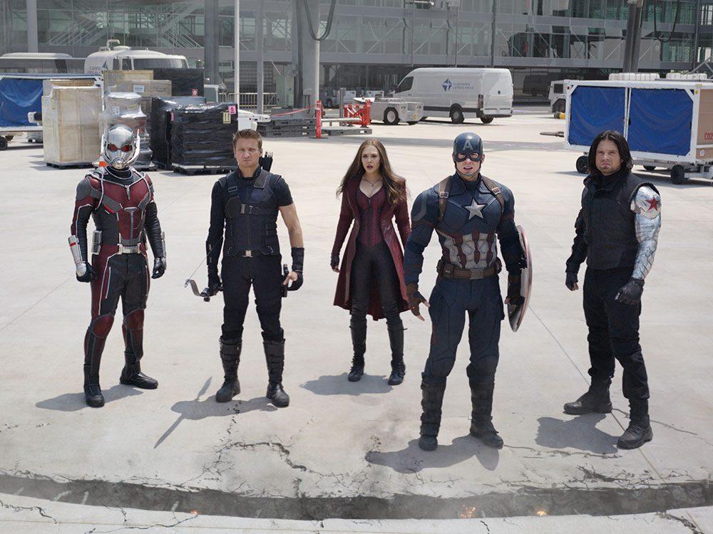 Regardez Captain America: Civil War en 15e pour respecter la chronologie de film Marvel.