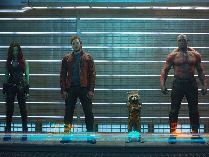 Regardez Guardians of the Galaxy en 11e pour respecter la chronologie de film Marvel.