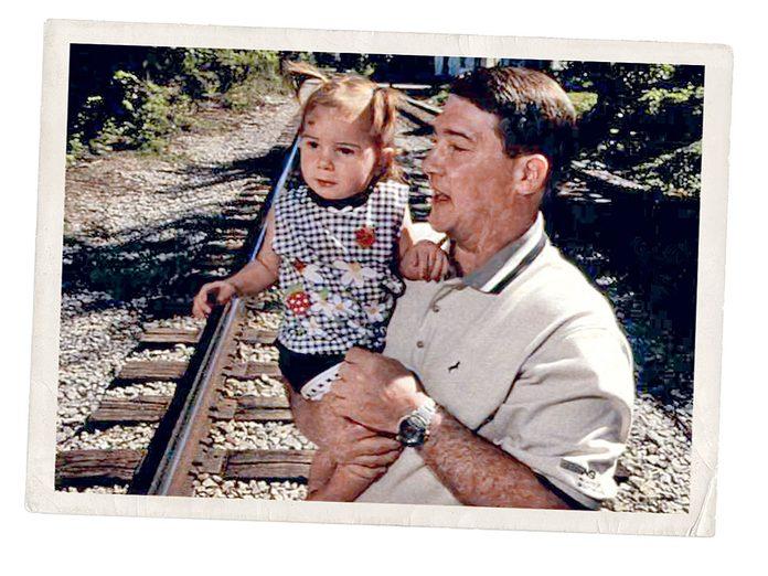 Une enfant sur les rails: ce jour-là, Robert Mohr a éviter un drame.