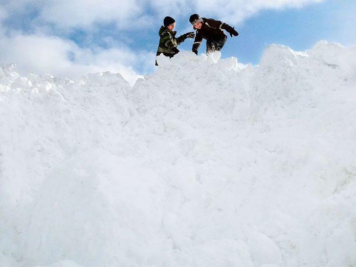 La beauté de l'hiver canadien à travers cette image de Thunder Bay en Ontario.