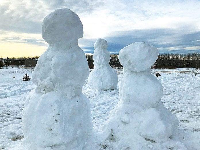 La beauté de l'hiver canadien à travers cette image de Penhold, dans l'Alta.