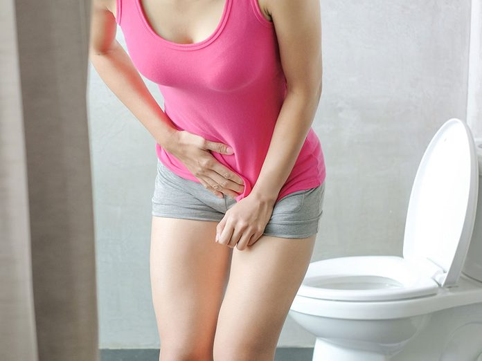 Infection urinaire: il ne fait pas avoir honte des soucis devessie.