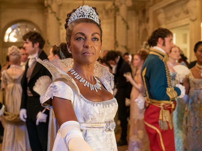Le personnage de Lady Danbury dans la série Netflix «La chronique des Bridgerton».