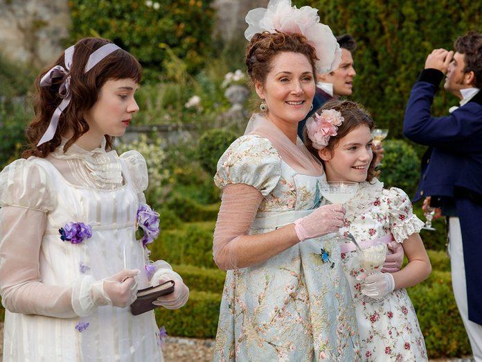 Le personnage de Lady Violet Bridgerton dans la série Netflix «La chronique des Bridgerton».