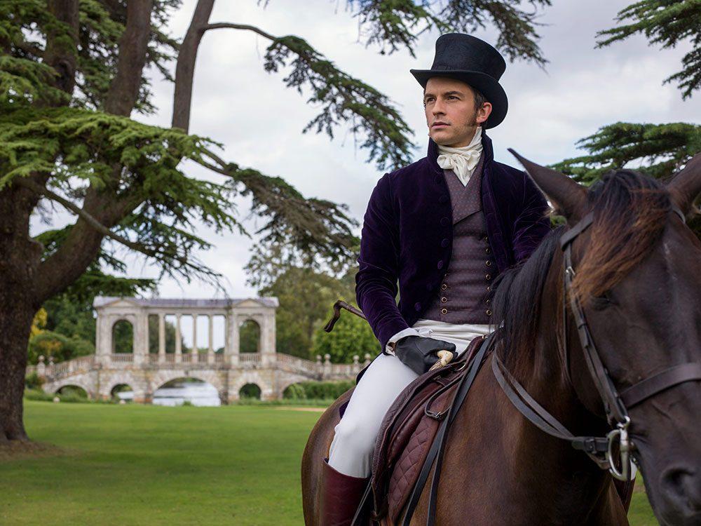 Le personnage de Lord Anthony Bridgerton dans la série Netflix «La chronique des Bridgerton».