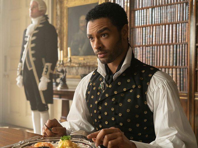 Le personnage de Simon dans la série Netflix «La chronique des Bridgerton».