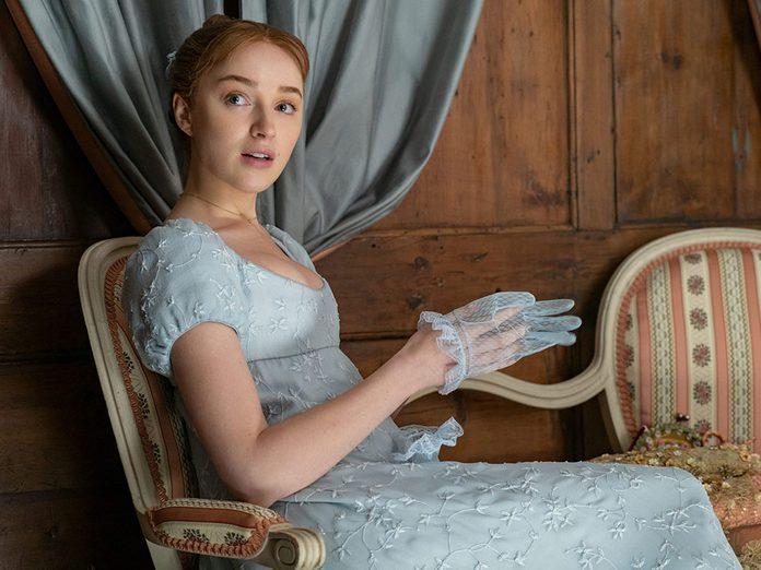 Le personnage de Daphné Bridgerton dans la série Netflix «La chronique des Bridgerton».