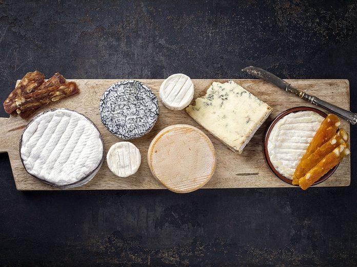 Le fromage fait partie des meilleurs aliments pour le cerveau.
