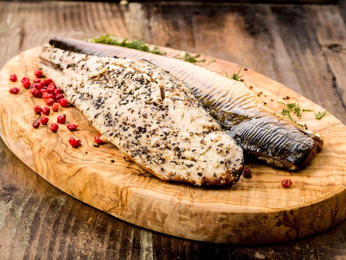 Les poissons gras font partie des meilleurs aliments pour le cerveau.