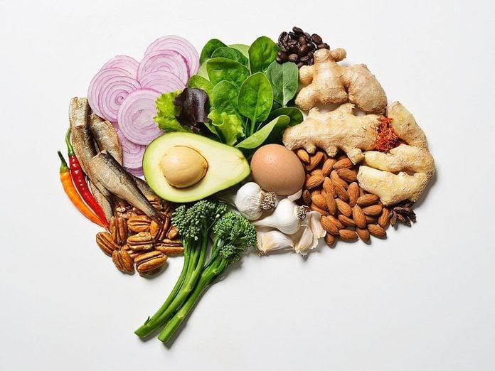 Les meilleurs aliments pour le cerveau.