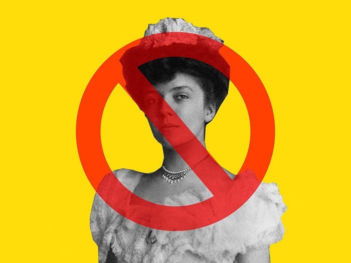 Alice Roosevelt a été interdite à la Maison Blanche.