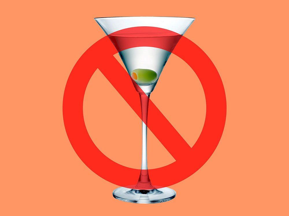 L'alcool est interdit à la Maison Blanche.