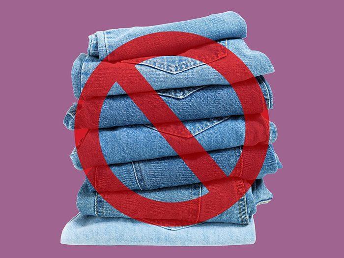 Les jeans sont interdits à la Maison Blanche.