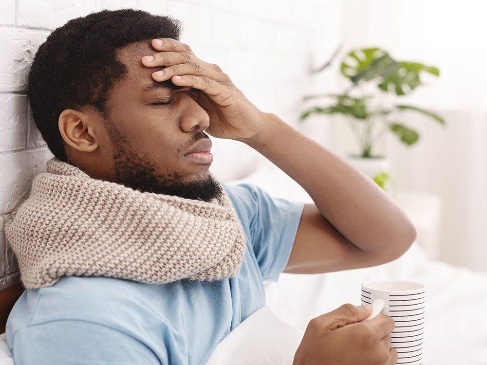 Les symptômes de la pneumonie atypique.