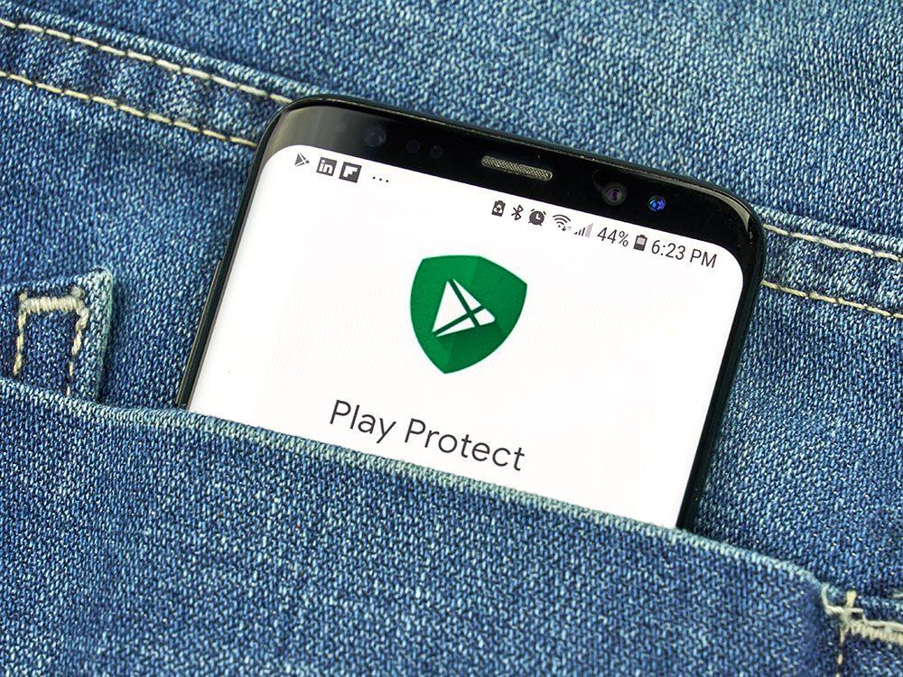 Utiliser les antivirus pour protéger son téléphone portable.