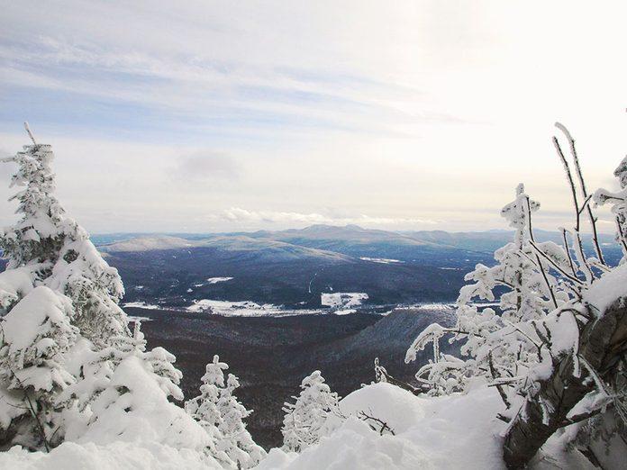 Le Parc d'environnement naturel de Sutton est parfait pour une randonnée hivernale.