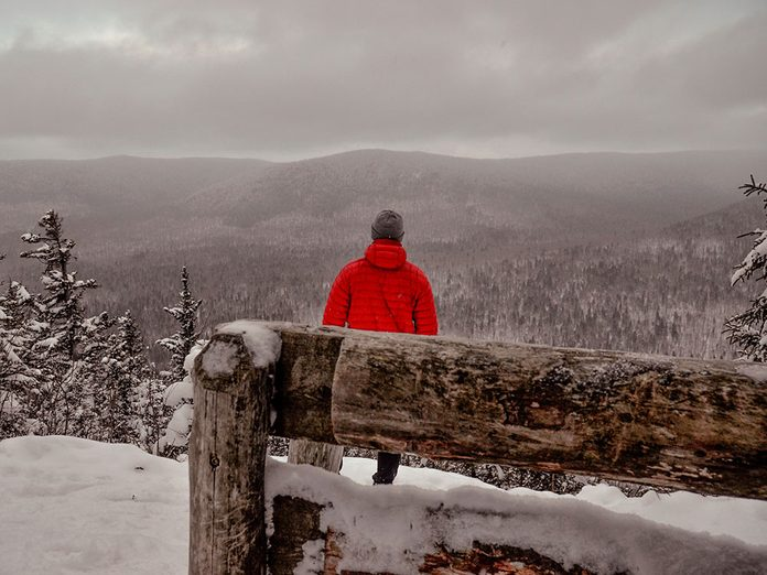 La randonnée hivernale est conseillée!