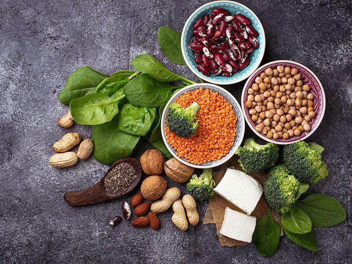 L'essor des aliments végétaux riches en protéines.