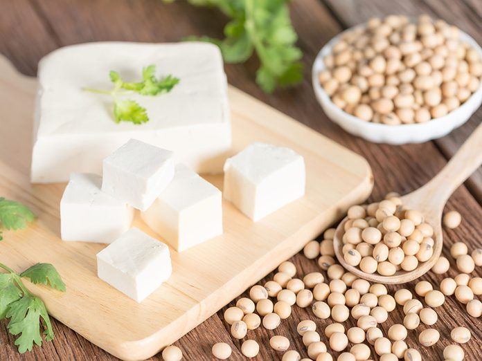 Opter pour le tofu qui est riche en protéïnes.