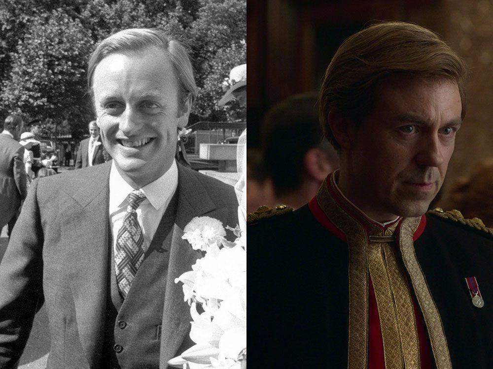 Andrew Parker-Bowles dans la série The Crown.