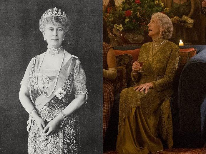 La reine Marie de Teck dans la série The Crown.