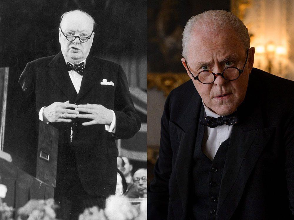 Sir Winston Churchill dans la série The Crown.
