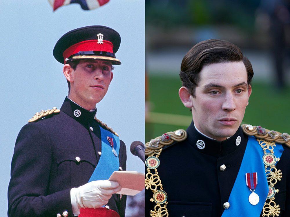 Le prince Charles dans sa jeunesse dans la série The Crown.