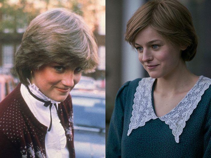 La princesse Diana dans la série The Crown.
