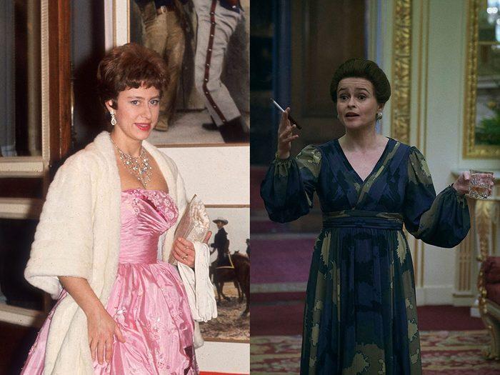 La princesse Margaret dans la série The Crown.
