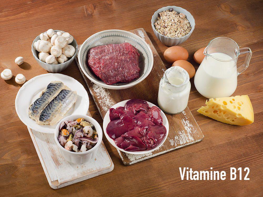 Renforcez votre système immunitaire grâce à la vitamine B12.