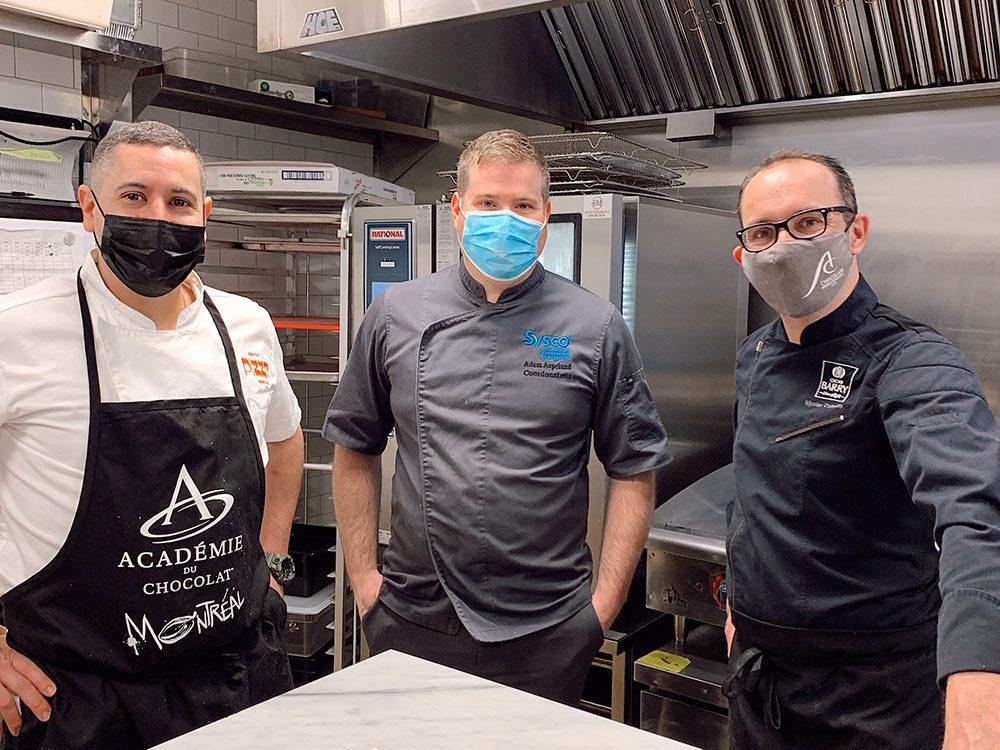 #ChefsÀEmporter – des plats locaux revisités par les meilleurs chefs.