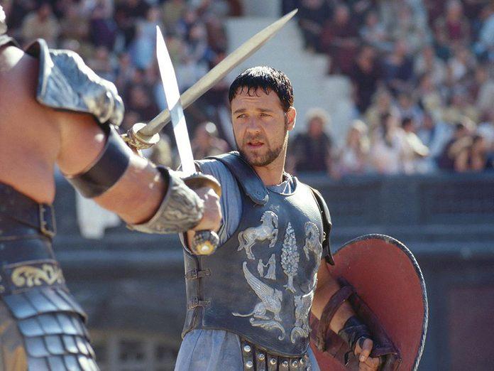 «Gladiateur» a reçu l'un des Oscars du meilleur film.
