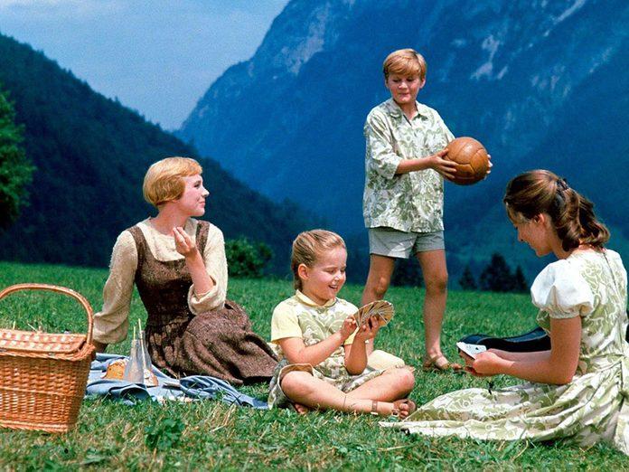 «La mélodie du bonheur» a reçu l'un des Oscars du meilleur film.