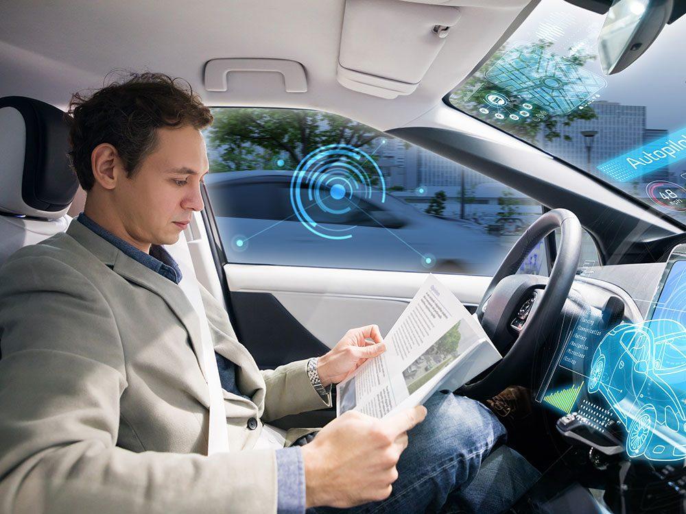 L'aide à la conduite automatisée fait partie des caractéristiques que votre voiture a sans doute.