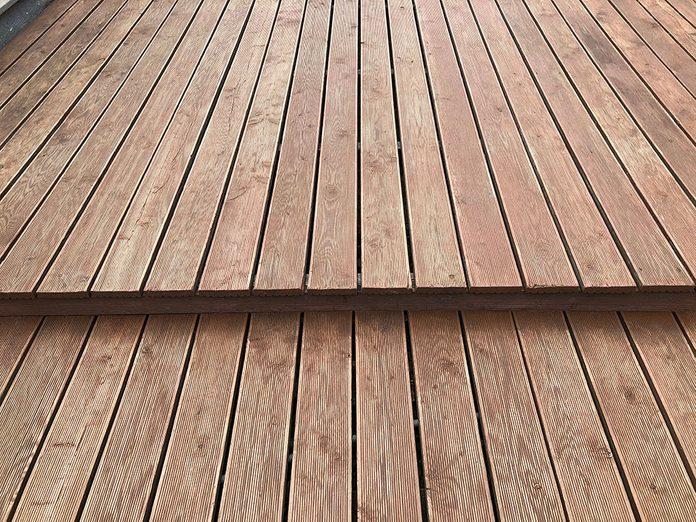 Comment nettoyer son patio: présentation du projet.