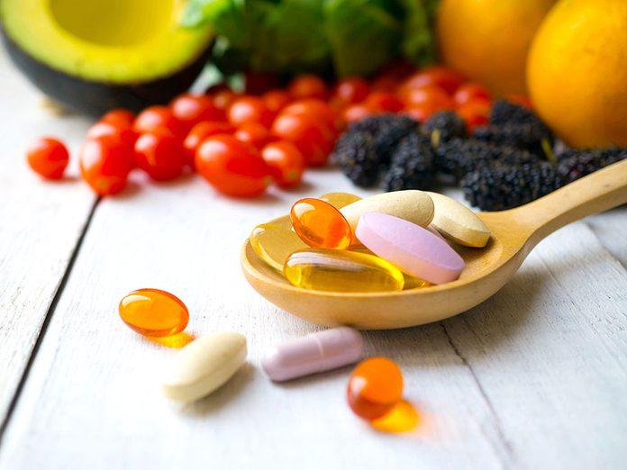 Des suppléments contre les douleurs articulaires.