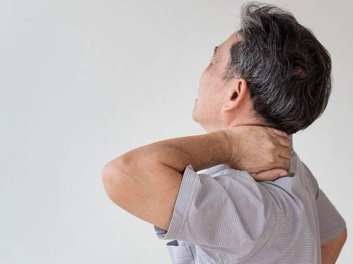 Des douleurs musculaires peuvent être signe d'un état inflammatoire.